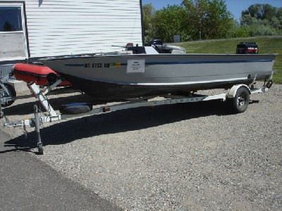1995 Starcraft 17 foot boat with Merc 45 Jet