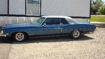 1972 Pontiac Grand Ville 2 door hardtop