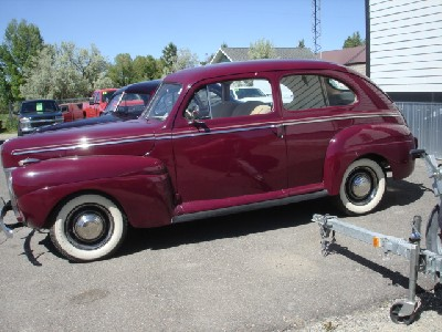 1941 Ford Coupe Deluxe